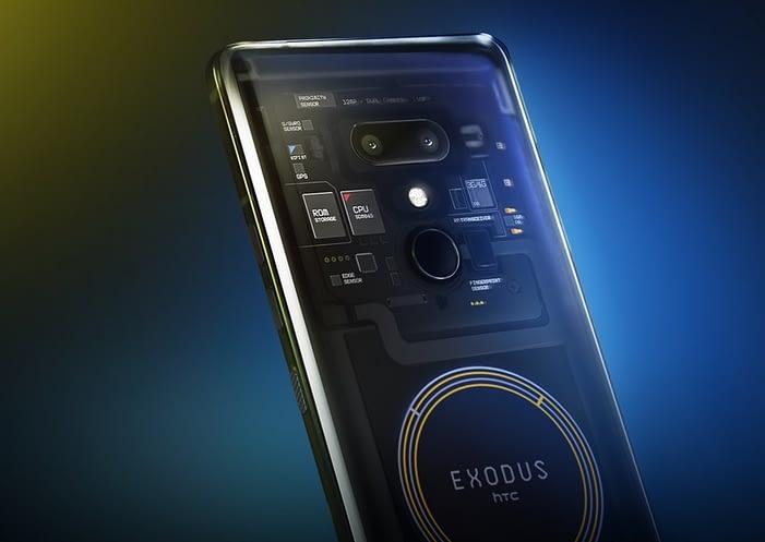 HTC Blockchain-Smartphone Exodus 1